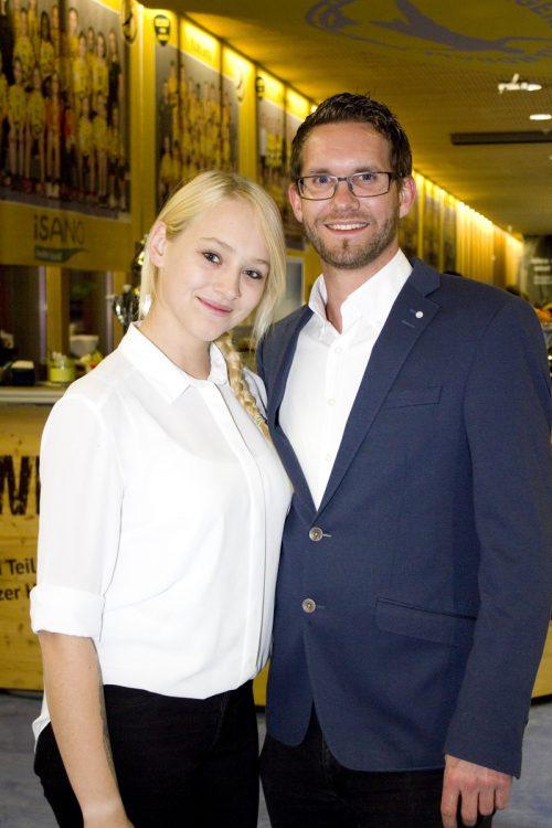 Patricia Flatz und Mathias Stigl (Catering Pier69).