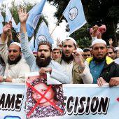 Islamisten-Protest nimmt kein Ende