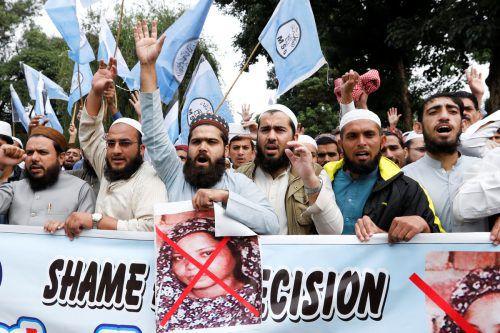 Radikalislamische Gruppen fordern die Vollstreckung des Todesurteils. reuters