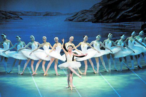 Romantik pur: Das St. Petersburg Festival Ballet bringt Schwanensee am Donnerstag, 3. Jänner 2019, auf die Bühne des Festspielhauses.veranstalter