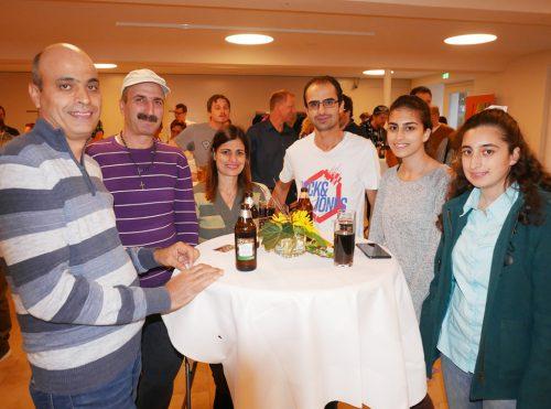 Rund 80 Neuzugezogene unterschiedlichster Nationalitäten folgten der Einladung zur Begrüßungsveranstaltung.tf