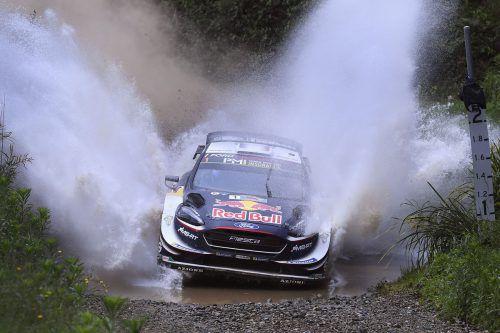 Sebastien Ogier greift in Australien nach dem sechsten Titel in der Rallye-WM.ap