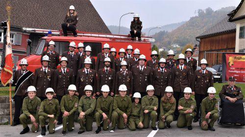 Seit 130 Jahren gibt es in Weiler eine freiwillige Feuerwehr. Loacker