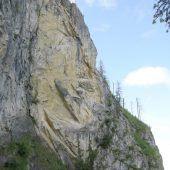 Der Fels steht felsenfest