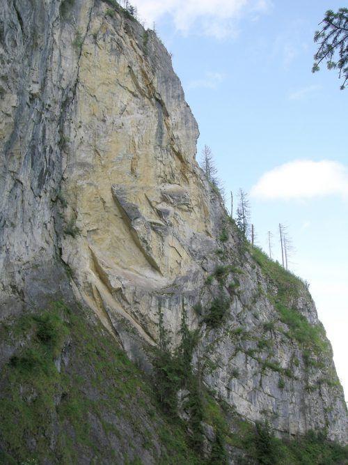 Seit 16 Jahren unter Beobachtung: Gelber Felsen am Breitenberg.STD