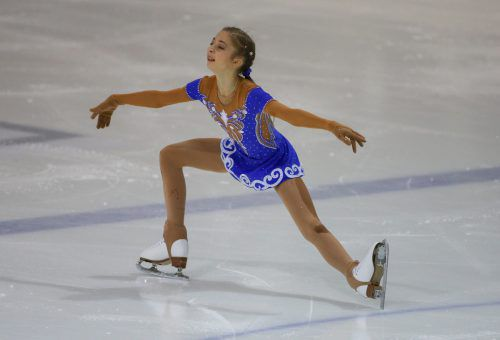 Sieg in Celje, jetzt geht es für Olga Mikutina um den österreichischen Titel. gepa