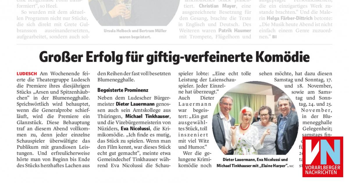 VN Heimat: Großer Erfolg für giftig-verfeinerte Komödie.