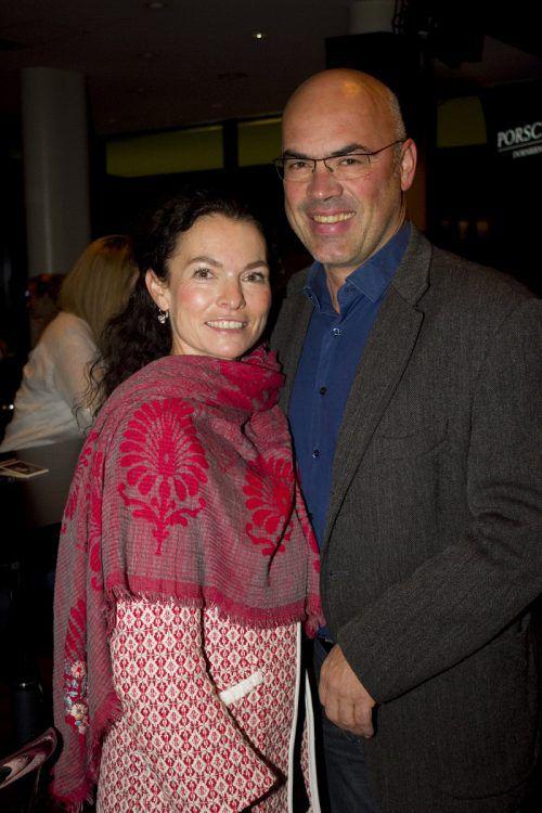 Sylvia und Andreas Weber ließen sich die CD-Präsentation nicht entgehen.