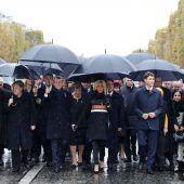 Macron plädiert für Weltfrieden