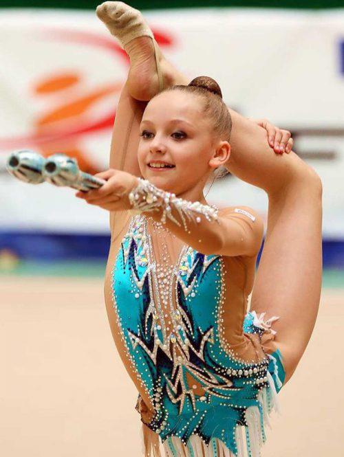 Teresa Welzig holte Gold in der Rhythmischen Gymnastik bei den ÖM.the