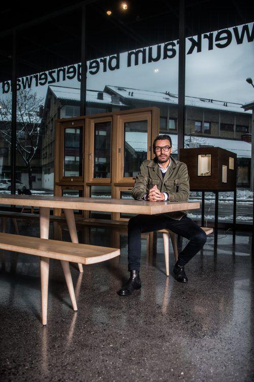 Thomas Geisler übernahm im Sommer 2016 die Werkraum-Leitung und wird Mitte 2019 Direktor des Kunstgewerbemuseums in Dresden. VN/PS