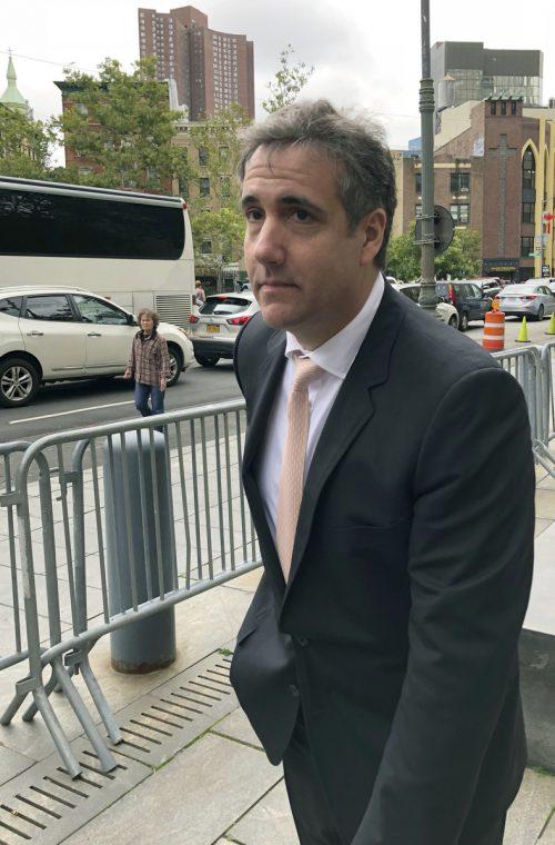 Trumps Ex-Anwalt Michael Cohen bekennt sich der Falschaussage schuldig. ap