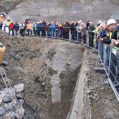 Tunneldurchschlag im Zanzenberg