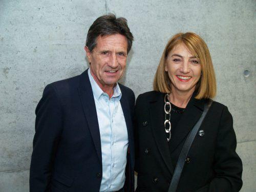 Unter den Gästen: Herbert und Sabine Mittelberger.