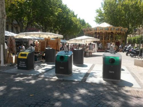 Unterflursysteme, wie hier im französischen Avignon, könnten bald auch in Dornbirn verwirklicht werden. Alton