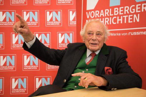 Unternehmer Reinhold Würth warnt eindringlich vor einer Schwächung der Europäischen Union.