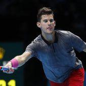 Thiem gegen Federer chancenlos