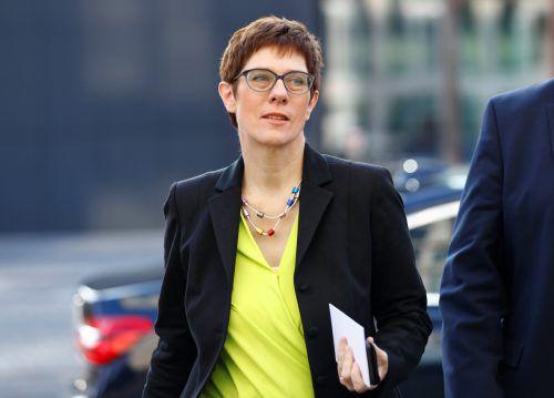Viele wünschen sich Annegret Kramp-Karrenbauer als Merkels Nachfolgerin. reuters