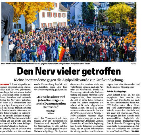 VN-Bericht vom 12. November 2018.