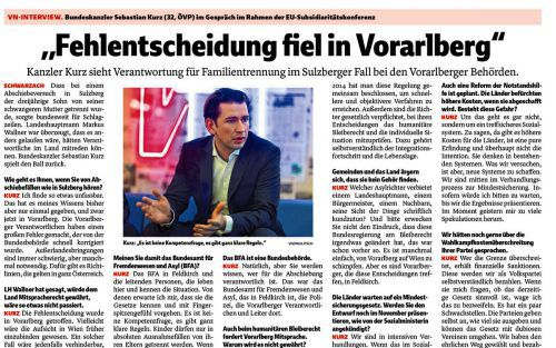 VN-Interview vom 16. November 2018.
