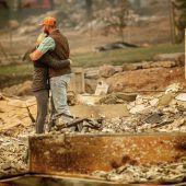 Schlimmste Feuersbrunst aller Zeiten in Kalifornien