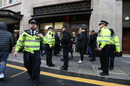Von einem terroristischen Hintergrund ging die Polizei nicht aus. ap