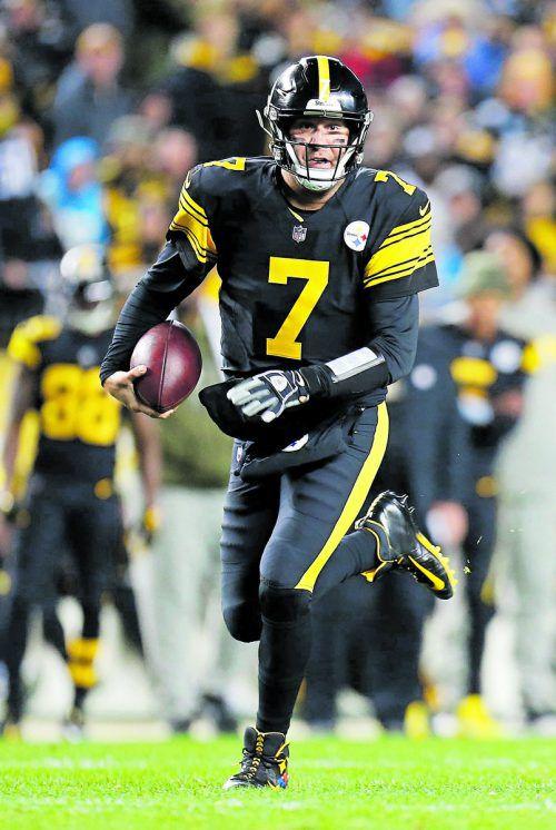 Vorarbeiter zu fünf Touchdowns von Pittsburgh: Ben Roethlisberger. apa