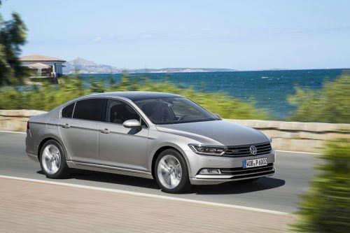 VW Passat: 4x4 setzt Diesel-Antrieb voraus, für die Limousine und den Variant.