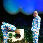 Theater Wagabunt spielt Wasser