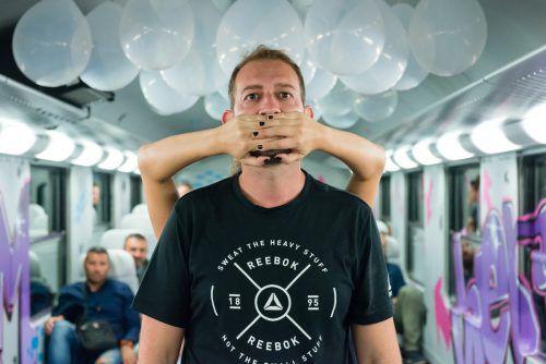 """Zum Kulturperspektiven-Programm zählte auch das gute Projekt """"Am Zug"""". Mosman"""