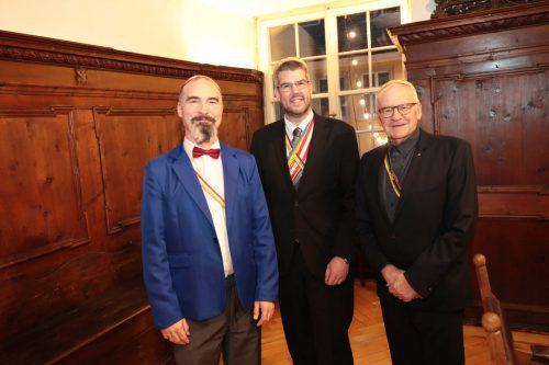 Achim Zortea, Wolfgang Schmidt und Gerold Konzett.