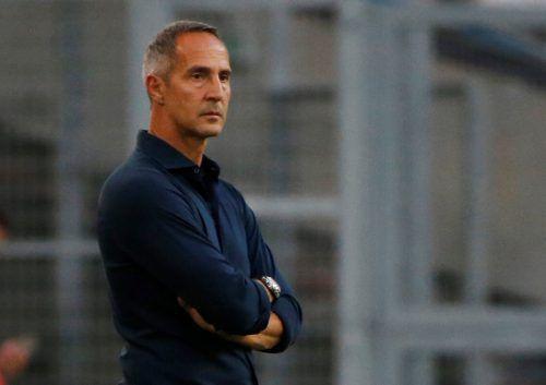 Adi Hütter kann mit Eintracht Frankfurt auf eine sehr erfolgreiche Herbstsaison zurückblicken.Reuters