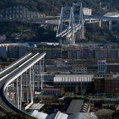 Neue Brücke in Genua soll bis Weihnachten 2019 stehen