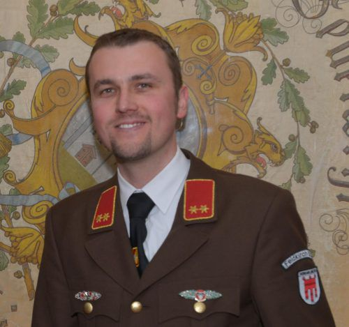 Andreas Weiß ist seit März 2016 Kommandant der Feuerwehr Feldkirch-Stadt.