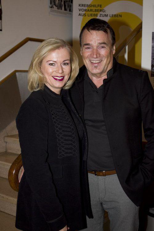 Angelika und Knut Schaper genossen den musikalischen Abend.