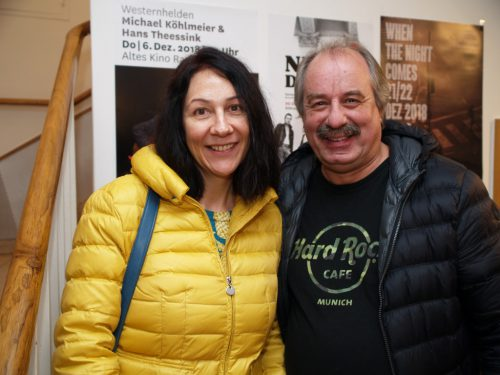 Auch Carmen Wagner und Bertold Türtscher waren begeistert.