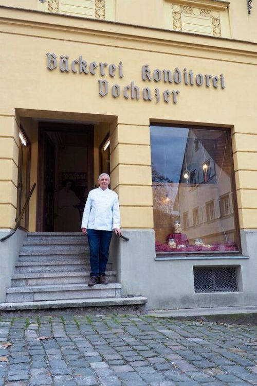 Bäckerlegende Georg Vochazer.