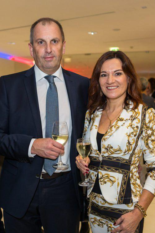 Begeisterte Zuhörer: Martin und Monika Bauer.