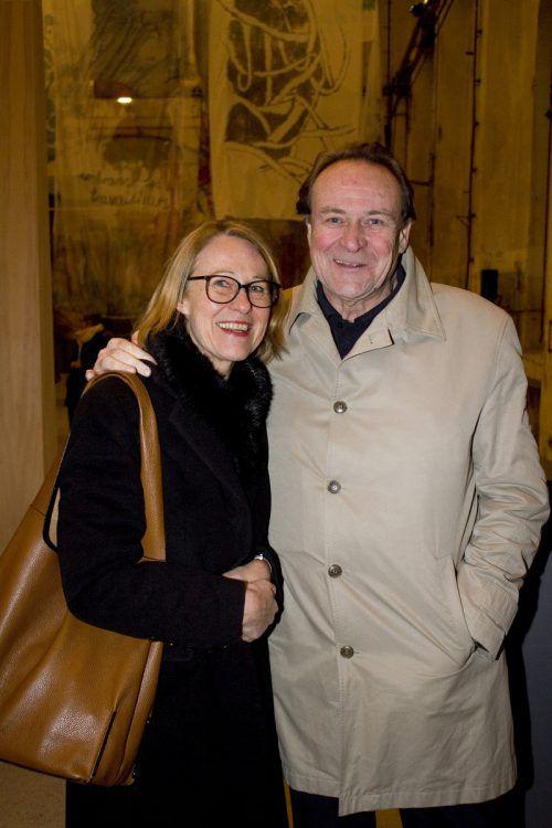 Begeistertes Gäste-Duo: Brigitta und Stephan Jansen.FRANC