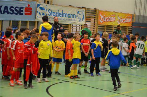 Beim Diezanocup gab es nur Sieger.FC Fohrenburger Rätia Bludenz