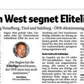 Westliga baut auf Eliteliga