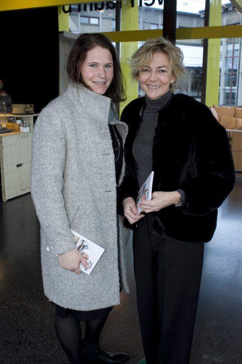 Birgit Meusburger (l.) und Irma Renner (Adler Großdorf). Franc