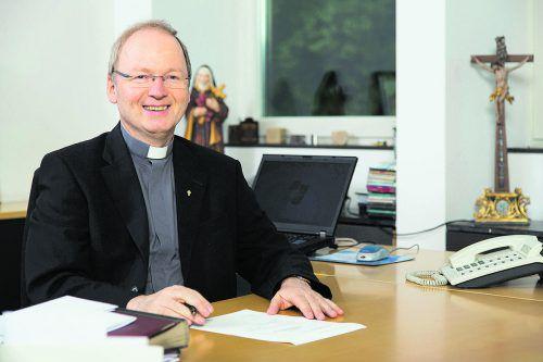 """Bischof Benno Elbs zitiert Ignatius von Loyola: """"Die Liebe ist das Gewicht der Seele.""""Katholische Kirche Vorarlberg"""