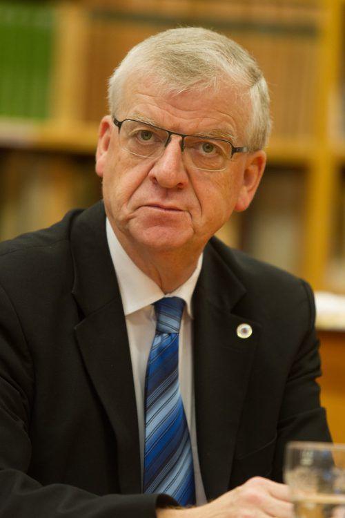 Bleibt Sprecher der ÖAAB-Lehrer im Land: Wolfgang Türtscher.VN/Hartinger