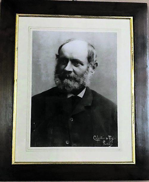 Brauereibesitzer Felix Pfanner (1818–1892).