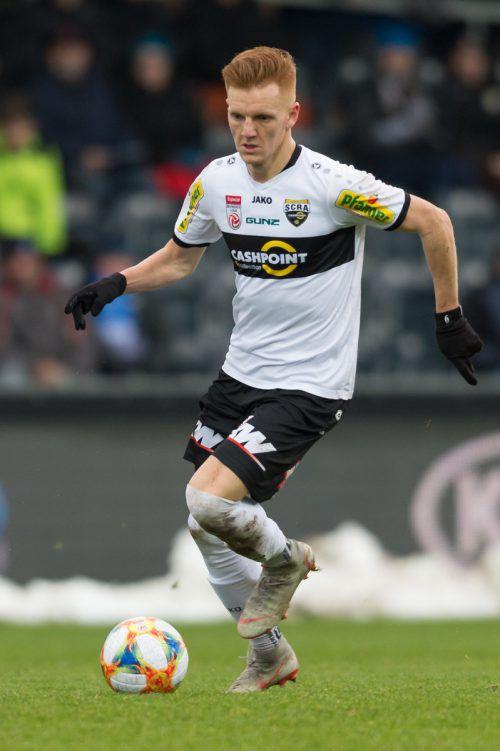 Christian Gebauer war der Altacher Dauerbrenner. In den 18 Bundesligarunden im Herbst stand er am Platz und bestritt nicht weniger als 1548 Minuten.Gepa