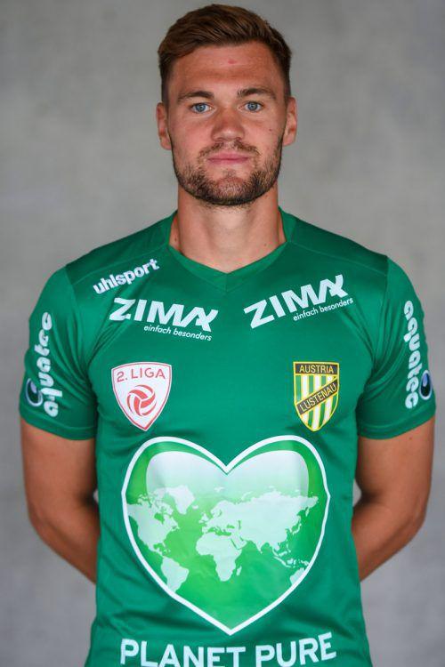 Christoph Kobleder wird im Frühjahrfür SW Bregenz auflaufen. gepa