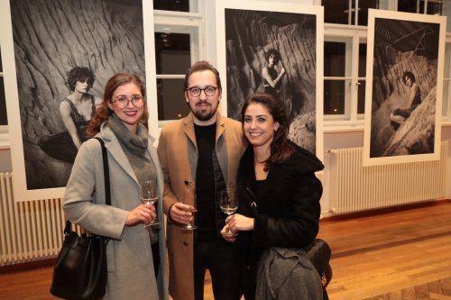 Claire und Manuel Berninger, Laura Uccia.