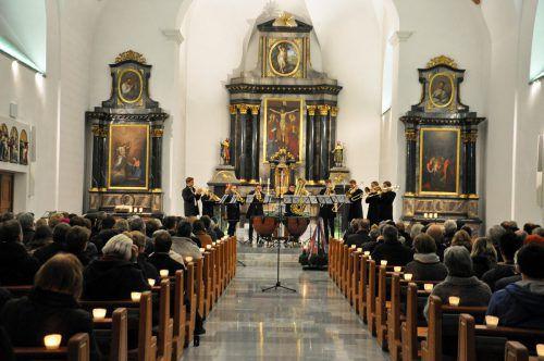 Das Austrian Brass Consort interpretiert Chormusik auf originelle Art. lcf