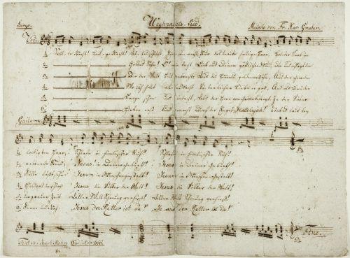 """Das bekannteste Weihnachtslied der Welt, """"Stille Nacht, Heilige Nacht"""", wird 200 Jahre alt. apa"""